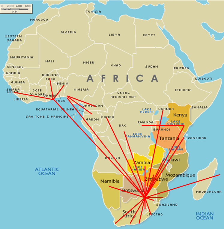 Africa Couriers Network Seabourne Group